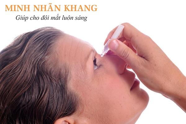 Nếu viêm giác mạc do vi khuẩn có thể được điều trị bằng kháng sinh nhỏ mắt